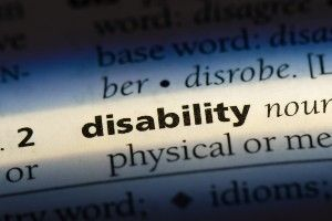 Disability dictionary